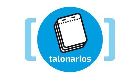 TALONARIOS-AZUL